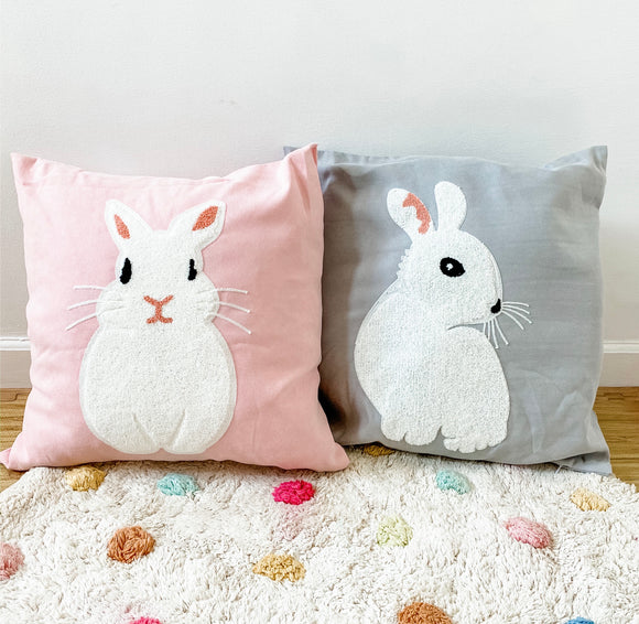 Bunny Cushion Cover (pillow case/throw pillow)