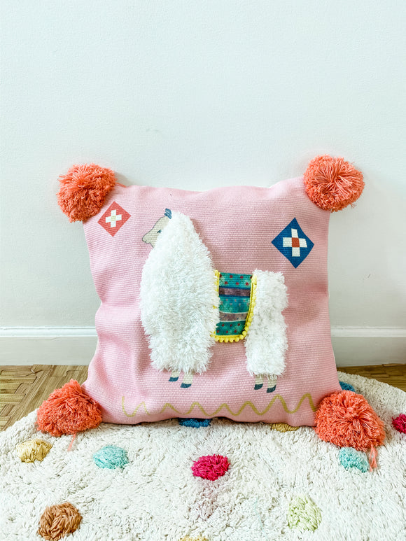 Llama Cushion Cover (pillow case/throw pillow)