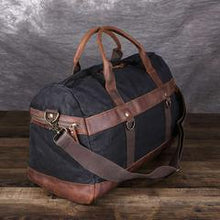 Load image into Gallery viewer, Canvas Travel Duffel Bag