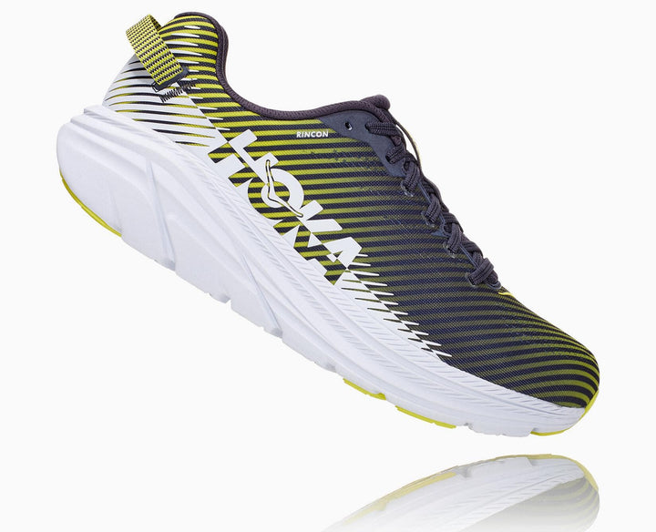 Hoka One One-Men's Rincon 2 Odyssey Grey/White
