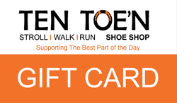 Ten Toe'n Gift & E-Gift Cards