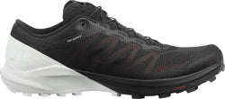 Salomon Men's Sense 4 Pro Black/White/Cherry Tomato