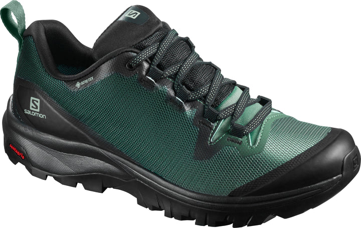 Salomon Women's Vaya GTX Black/Balsam Green