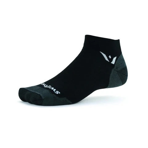 Swiftwick Merino Wool Socks - Pursuit One Ankle Ultra Light Cushion