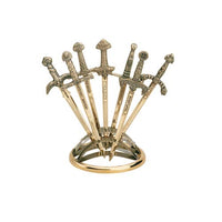 Miniature Sword Display Stand by Marto of Toledo Spain - Seven Sword Display
