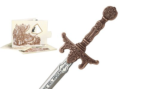 Miniature Apocalypse Riders Sword (Bronze) by Marto of Toledo Spain