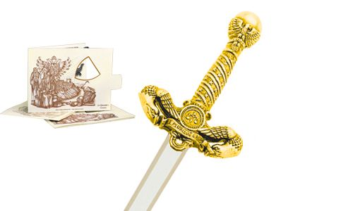 Miniature American Liberty Sword (Gold) by Marto of Toledo Spain