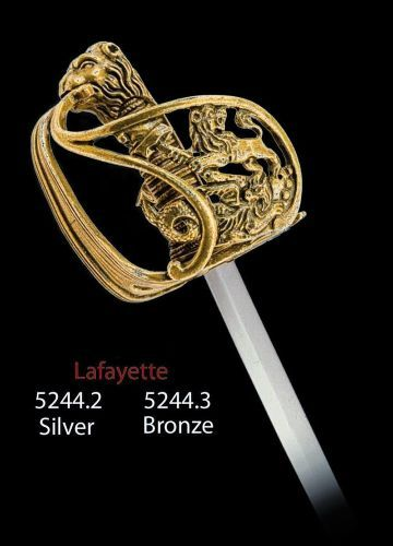 Miniature Lafayette Sword (Silver) by Marto of Toledo Spain Limited Edition