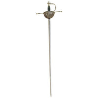 Spanish Tizona Cup Hilt Rapier Sword by Marto of Toledo Spain