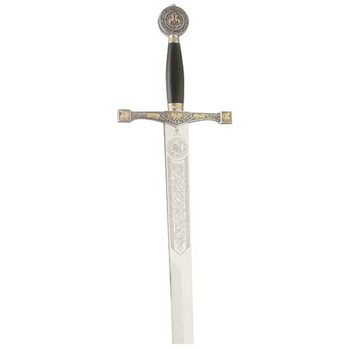 Excalibur Fantasy Sword by Marto of Toledo Spain (Gold/Silver)