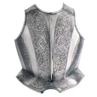 Engraved Spanish Breastplate by Marto of Toledo Spain