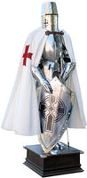 Templar Knight Suit of Armor by Marto of Toledo Spain (Templar Scottish Cross)
