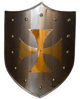 Brass Templar Cross Shield by Marto 963.11