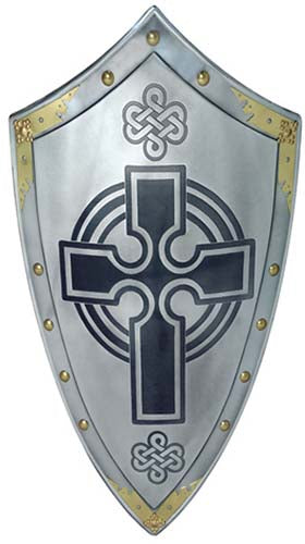 Templar Knight Scottish Cross Shield by Marto of Toledo Spain