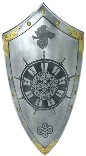 King Arthur Round Table Templar Knight Shield by Marto of Toledo Spain