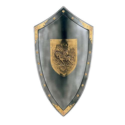Steel Shield of El Cid Campeador by Marto of Toledo Spain