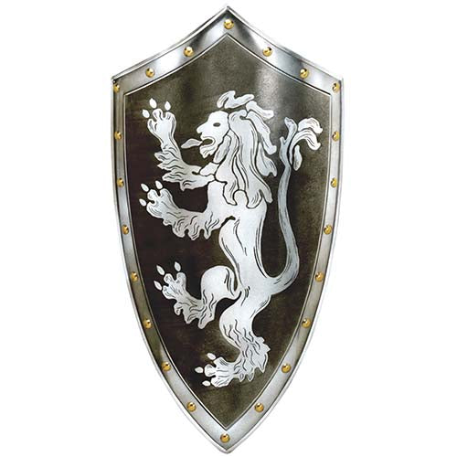 Rampant Lion Shield by Marto of Toledo Spain