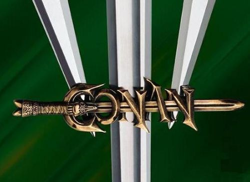Conan the Barbarian Sword and Daggers Display Hanger by Marto of Toledo Spain - Official Licensed Reproduction