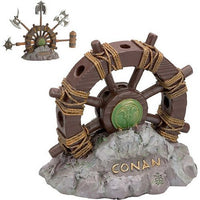 Conan the Barbarian Wheel of Pain Display Stand for Miniature Conan the Barbarian Weapons by Marto of Toledo Spain - Official Licensed Reproduction