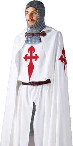 St. James Templar Knight Tunic and Cloak by Marto of Toledo Spain