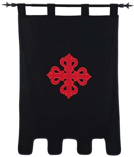 Templar Knight Order of Calatrava Banner by Marto of Toledo Spain