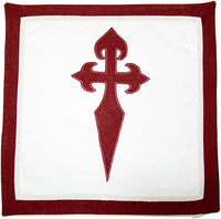 Templar Knight Order of Saint James Cushion by Marto of Toledo Spain