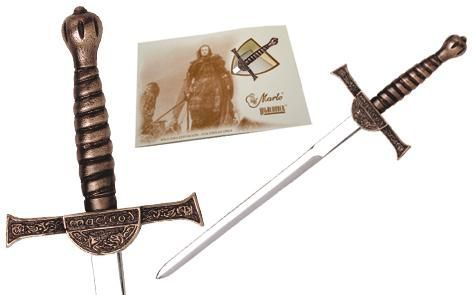 Miniature Connor MacLeod Highlander Sword Bronze by Marto of Toledo Spain