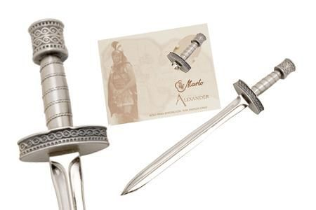 Miniature Alexander the Great Sword Silver by Marto of Toledo Spain