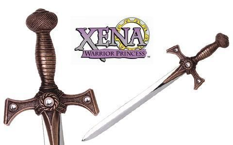Miniature Xena Sword Bronze by Marto of Toledo Spain