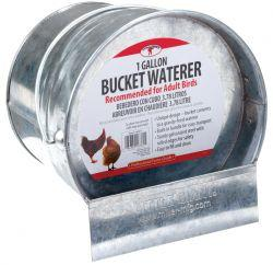 Little Giant Galvanized Bucket Poultry Waterer