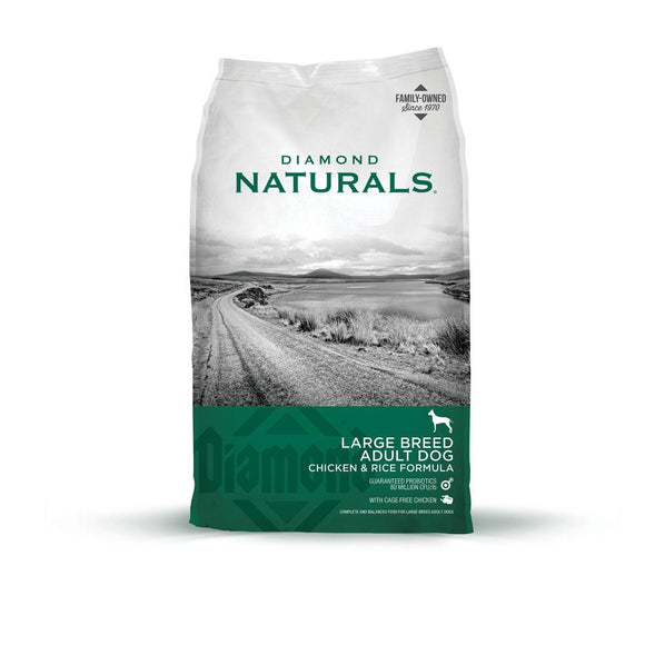 Diamond Naturals Large Breed Chicken & Rice Formula Adult Dry Dog Food
