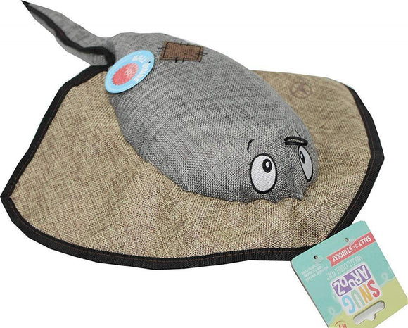 Snugarooz Sally the Stingray Plush Dog Toy