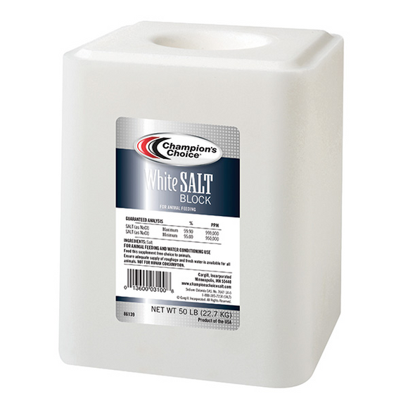 Champion's Choice® White Salt Block