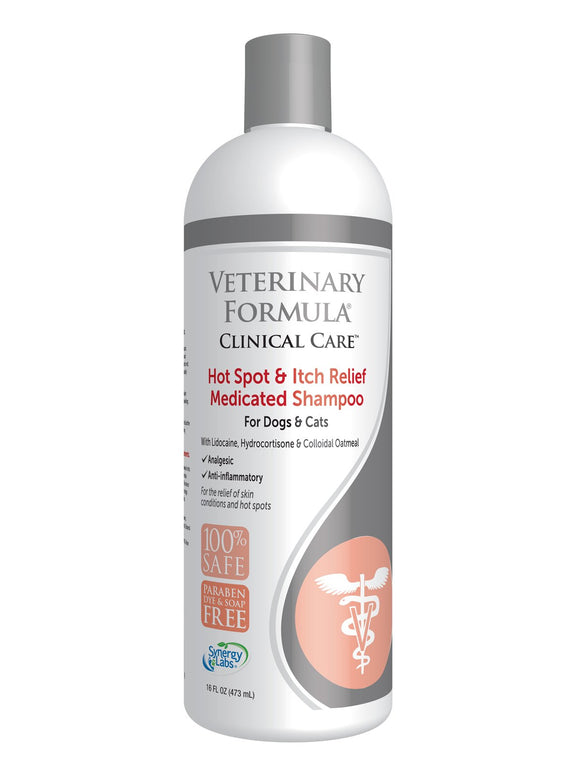 Veterinary Formula Clinical Care Hot Spot & Itch Relief Medicated Shampoo
