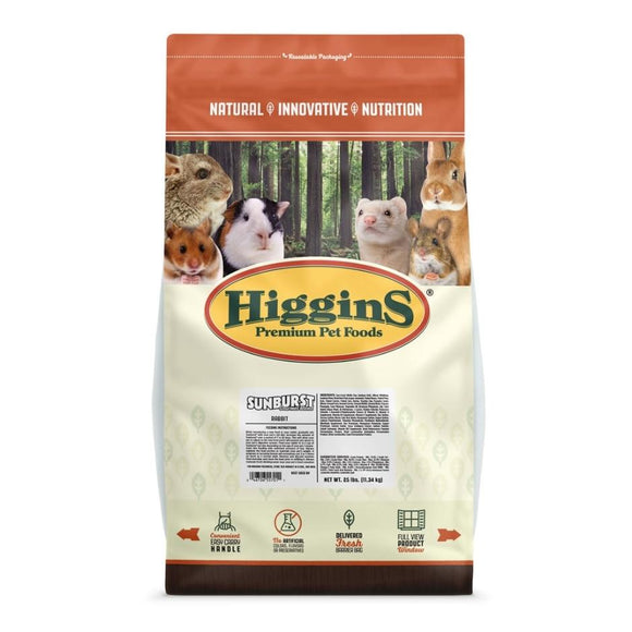 HIGGINS SUNBURST GOURMET BLEND RABBIT