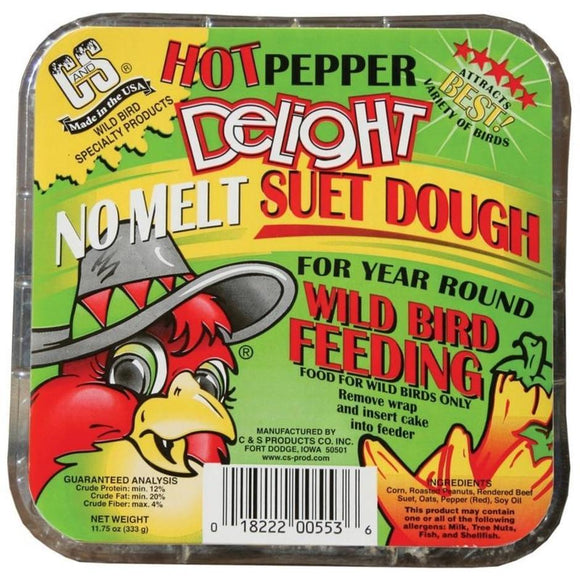 C&S HOT PEPPER DELIGHT NO MELT SUET DOUGH