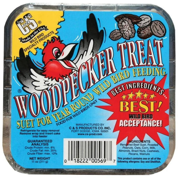 C&S WOODPECKER TREAT SUET