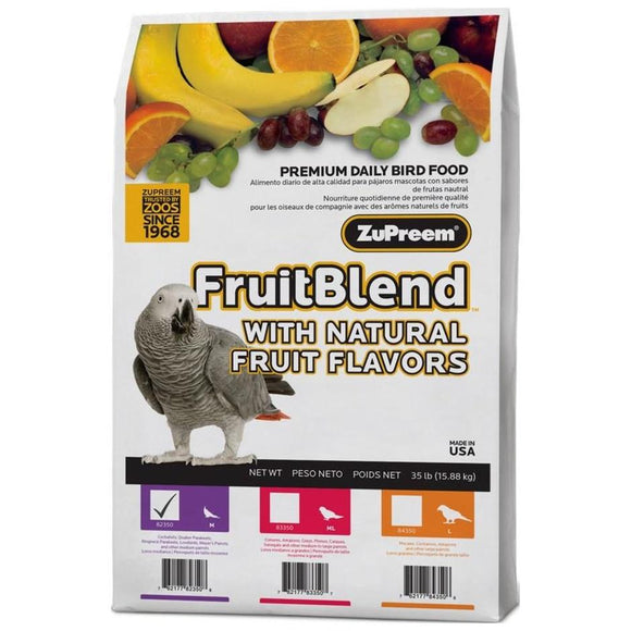 FRUITBLEND WITH NATURAL FRUIT FLAVORS MD PARROT