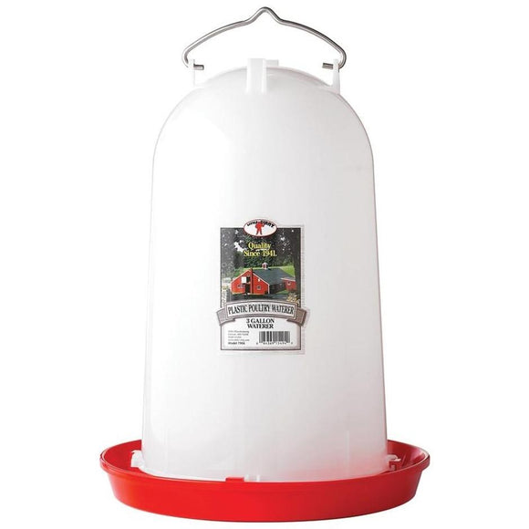 LITTLE GIANT HANGING POULTRY WATERER PLASTIC