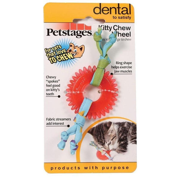 PETSTAGES KITTY CHEW WHEEL