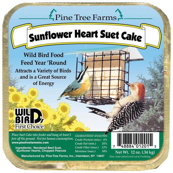 sunflower Heart SUET CAKE