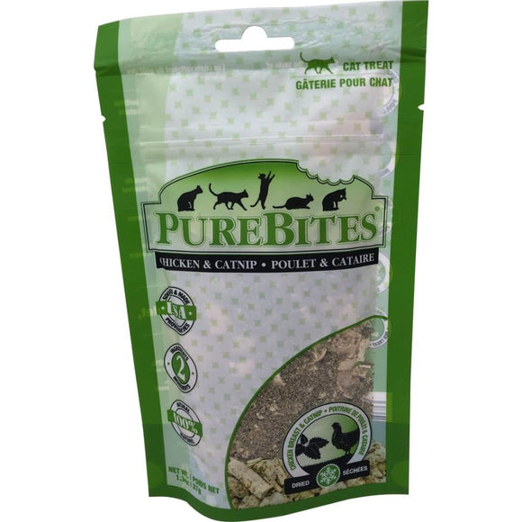 PUREBITES FREEZE DRIED CHICKEN BREAST & CATNIP CAT TREAT