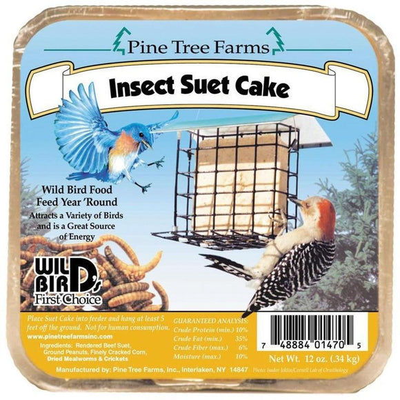 PINE TREE FARMS INSECT SUET CAKE