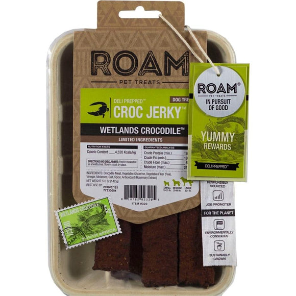 Roam Croc Jerky Wetlands Crocodile Deli Prepped