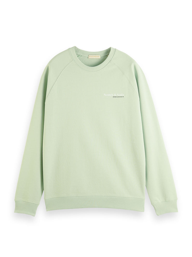Classic crewneck in organic cotton Sweater
