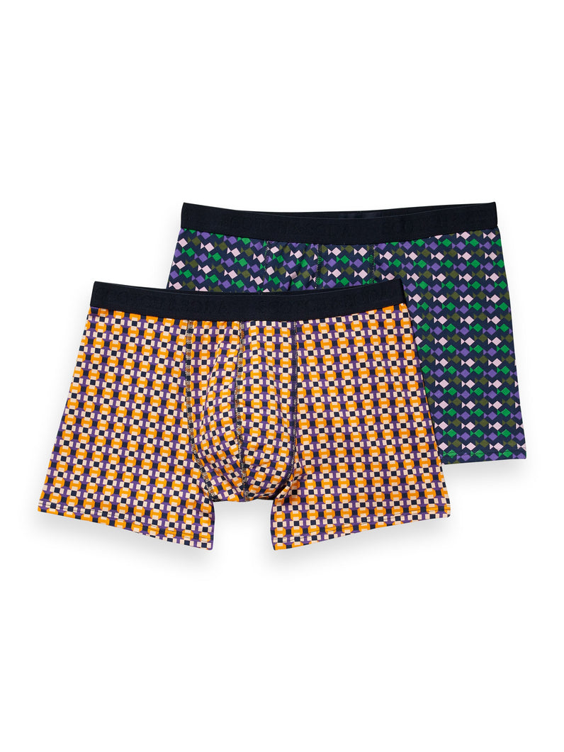 Classic boxer short with colorful aop