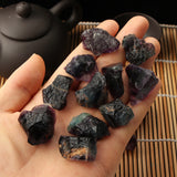 1Pc Natural Fluorite Quartz Crystal Stones Rough