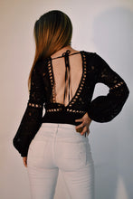 Load image into Gallery viewer, Lace Body Suit with Long Sleeve