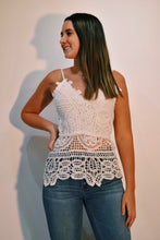 Load image into Gallery viewer, Spaghetti Strap Lace Top