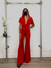 Load image into Gallery viewer, Red Jumpsuit